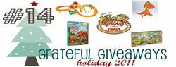 Read more about the article Grateful Giveaways #14: Dinosaur Train Time Mountain Tunnel Set, Megabloks + More