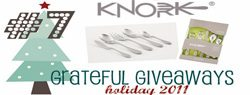 Grateful Giveaways #7: Knork Flatware + Serving Set