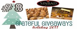 Grateful Giveaways #8: Sinbad Sweets Baklava, Nut Tarts + Peanut Butter Princesses