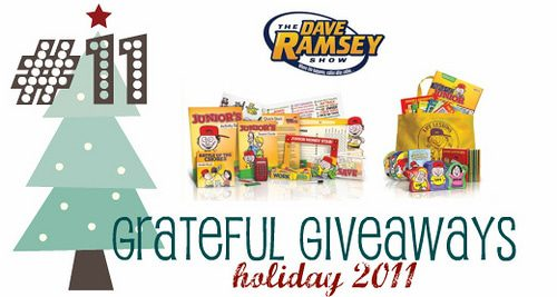"Grateful Giveaways #11: Dave Ramsey Kids ""Monster Pack"""