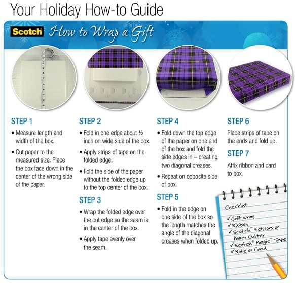 OfficeMax - Holiday Help Center - Gift Wrapping Tips
