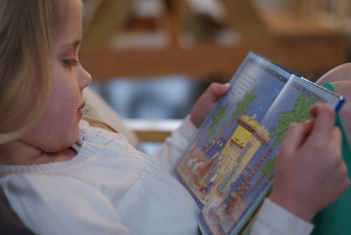 reading the Christmas story