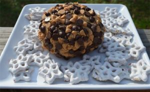 101 Days of Christmas: Peanut Butter Cheeseball