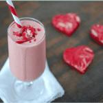 valentine's day milkshake