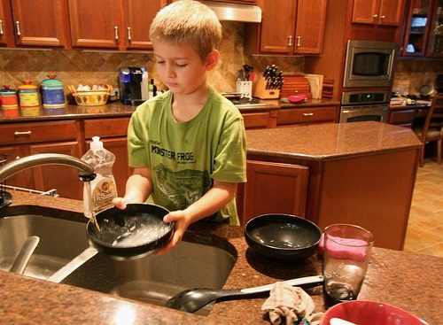 You are currently viewing Chores for Kids: How We Do It