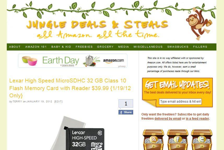 Jungle Deals & Steals