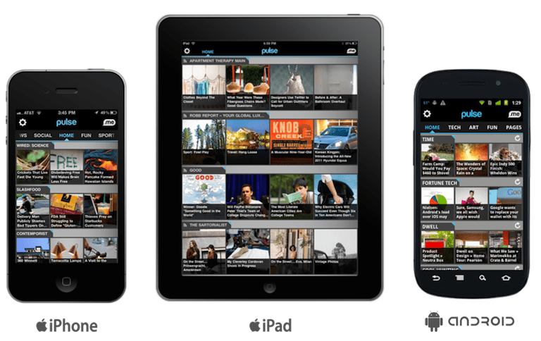 Pulse News Apps for iOS and Android Devices > Life Your Way
