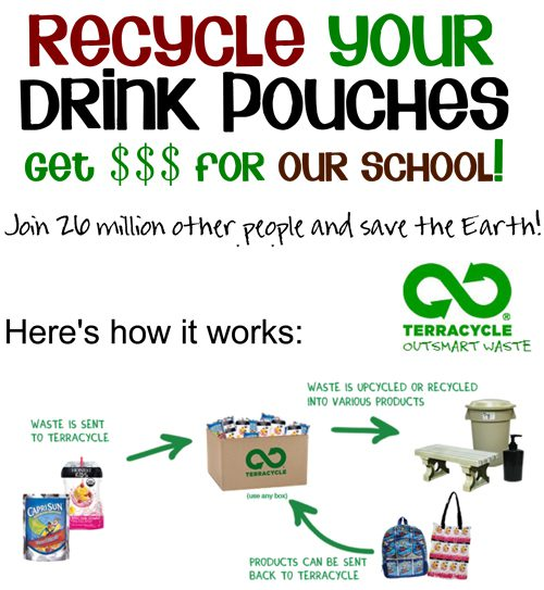See My First Grader Save the Earth…from Juice Pouches!