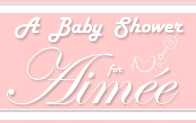 baby shower for aimee