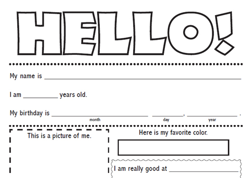 Printable Pen Pal Letter Template > Life Your Way
