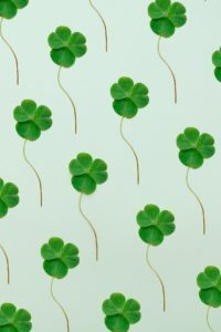 St. Patrick's Day Yarn Art