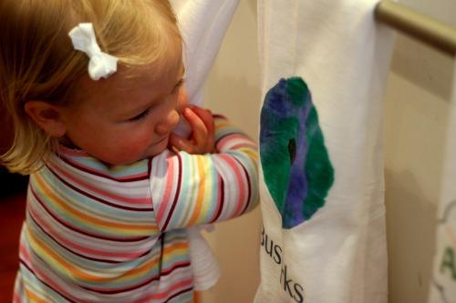 earth day towel love