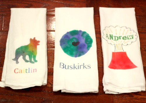 earth day towels