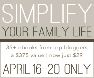 simplify your family life sale
