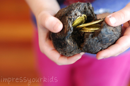 make treasure stones