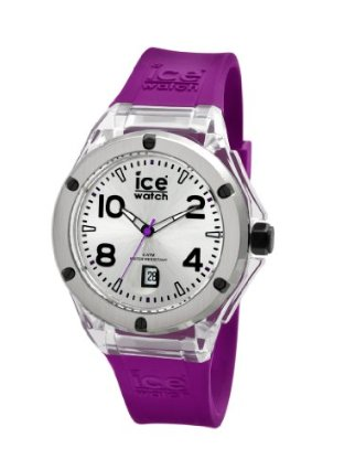 Ice-Watch Purple Flex-Strap Watch