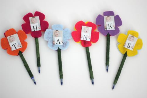 Diy Teacher Appreciation Gift Photo Flower Pens Life Your Way