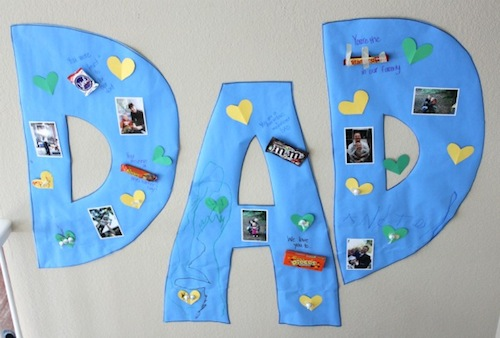 Father's Day Giant Candy Gram