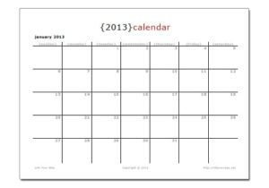 Read more about the article New Printable Holiday Calendars + 2013 Calendars