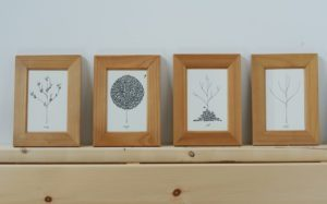 Read more about the article Framed Greeting Cards {Frugal Decor}