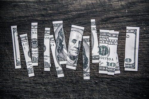 pieces of money
