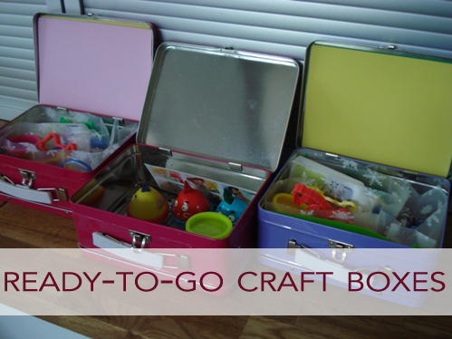 Ready-to-Go Craft Boxes