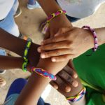 Two Simple Friendship Bracelets for Celebrating the Olympics