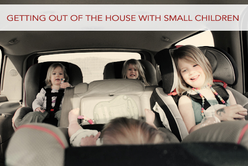 Getting Out of the House with Small Children