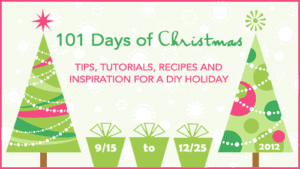 Counting Down to the 101 Days of Christmas {2012}