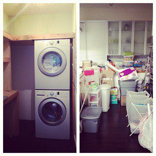 Simplifying for Fall: Clothes & Laundry Room