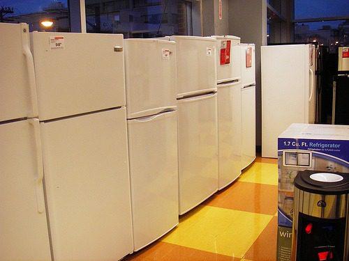 Appliance Store Refrigerators
