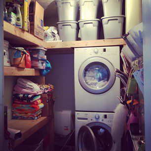 Simplifying for Fall: Clothes and Laundry Room