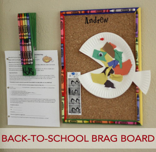 Back to School Brag Board