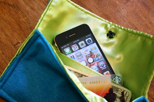 How to Make a Felt Purse with Pocket Divider