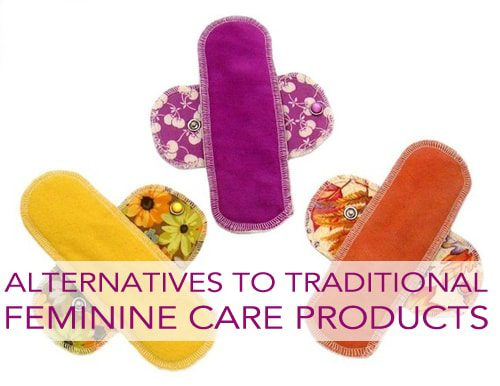Alternatives to traditional feminine care products
