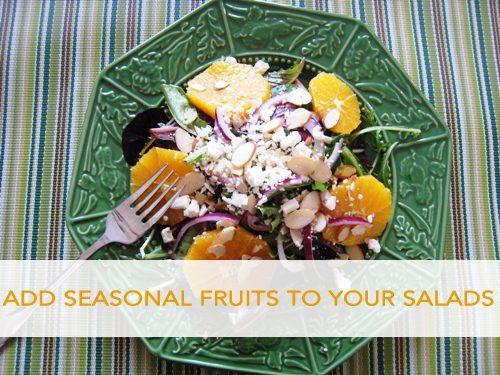 Add Seasonal Fruit to Your Salad
