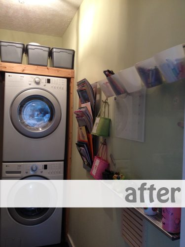Simplifying for Fall: Clothes and Laundry Room {Day 1}