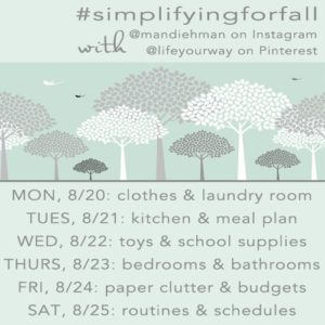Read more about the article Simplifying for Fall: Family Room and Entry Way {Day 7}
