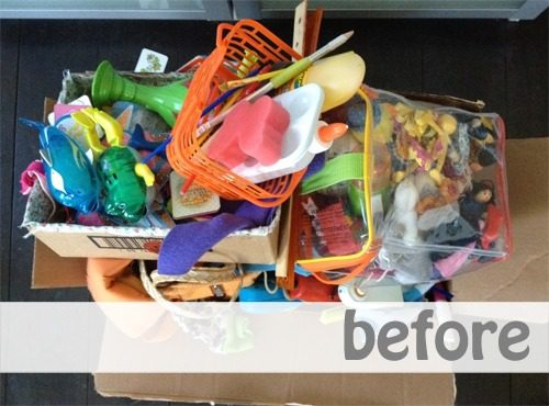 Simplifying for Fall: Toys and School Supplies