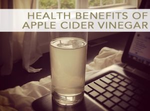 Why I Drink {And Love} Apple Cider Vinegar Water