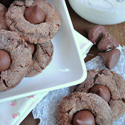 Nutella Kiss Cookies