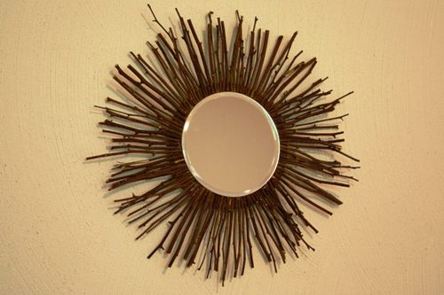 How to Make An Inexpensive Twig Mirror