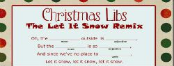 101 Days of Christmas: Christmas Mad Libs