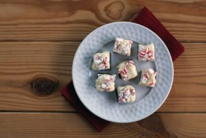 101 Days of Christmas: Double-Layer Peppermint Fudge