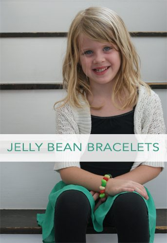 101 Days of Christmas: Jelly Bean Bracelets