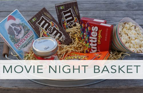 101 days of christmas family movie night gift basket