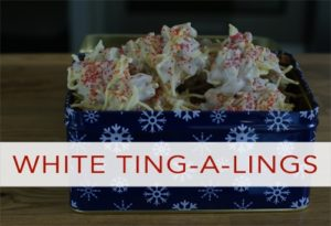 101 Days of Christmas: White Ting-A-Lings