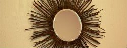 Decorate for Fall with a DIY Twig Mirror