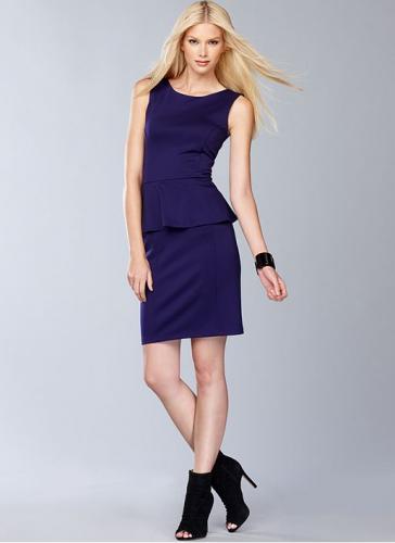 INC International Concepts Dress, Sleeveless Peplum Sheath