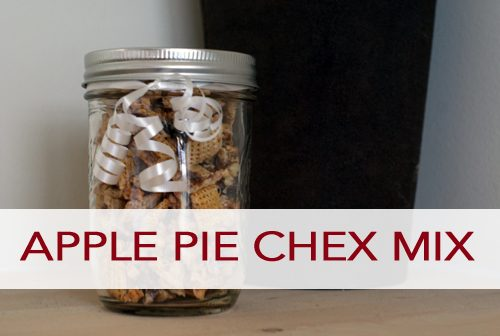 Apple Pie Chex Mix
